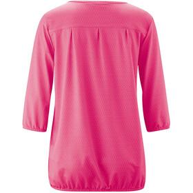 Maier Sports Doora 3/4 Pusero Naiset, pink allover